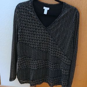 Chicos size 3 Blouse